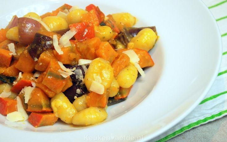 Gnocchi met pompoen, salie en Parmezaan - Keuken♥Liefde