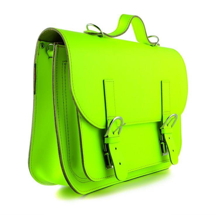 Mooie hippe lederen school-en schoudertassen!