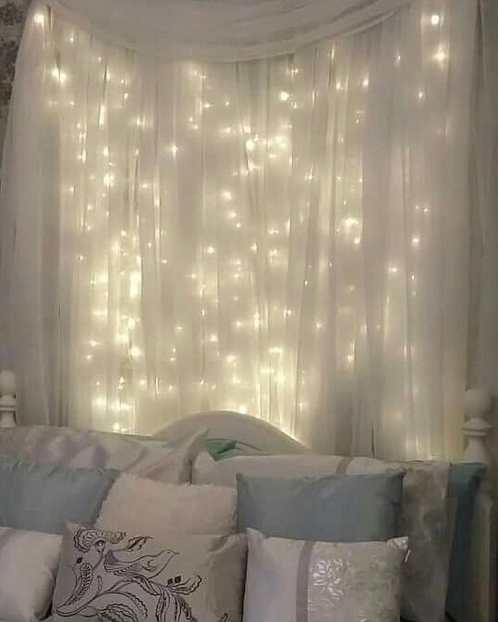 Curtain Led Lights Bedroom Decor Home Decor Home Decor Bedroom