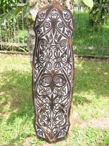 Native Shield - Full Tattoo Motifs Of Borneo Dayak