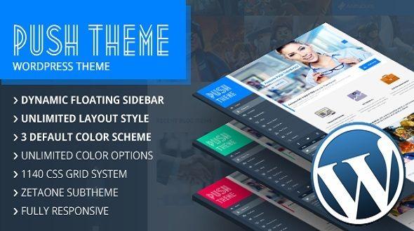 Push WordPress Theme