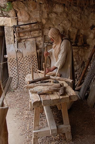 """""""Nazareth Village"""" is a unique attraction that replicates biblical-time Nazareth and show visitors how this village, and its inhabitants, looked like at the time of Christ"""