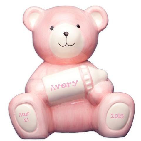 25 unique personalized piggy bank ideas on pinterest piggy bank personalized pink bear piggy bank personalized piggy bankpersonalized baby giftspiggy negle Gallery