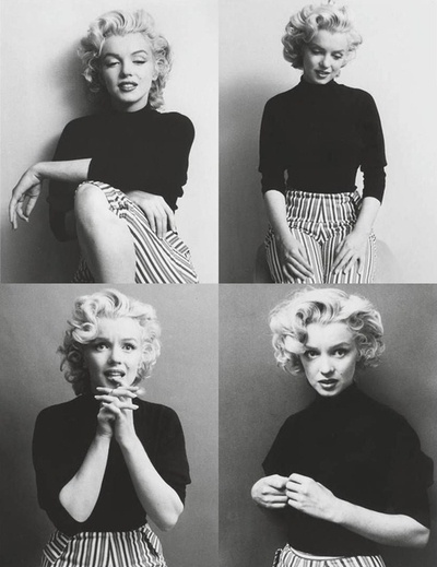 Marilyn Monroe. She's unspires me and is my all time favorite celebrity