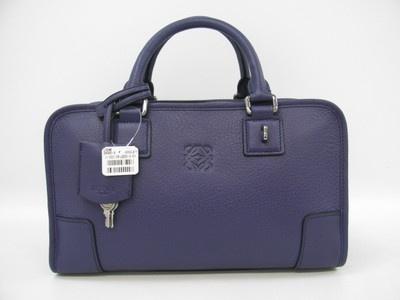 LOEWE Amazona Handbag Purple