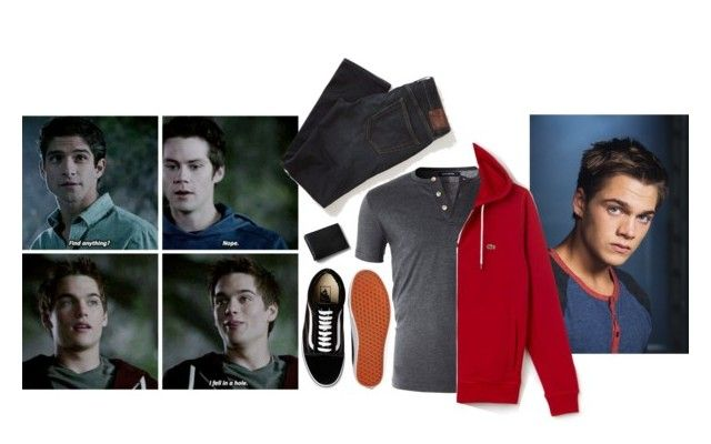 """""""Liam Dunbar """"I fell  in a hole"""""""" by picklecat ❤ liked on Polyvore featuring Vans, Abercrombie & Fitch, Lands' End, men's fashion, menswear, liam, MTV, TeenWolf and dunbar"""
