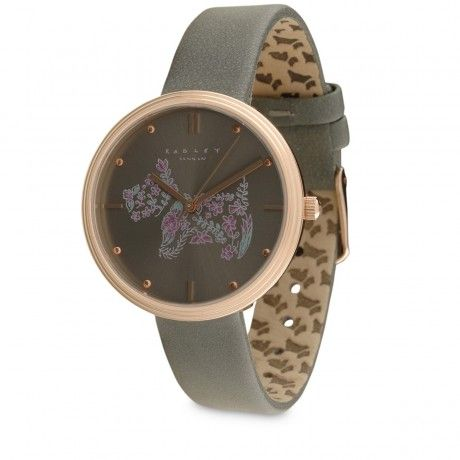 Rosemary Gardens,Leather Strap Watch