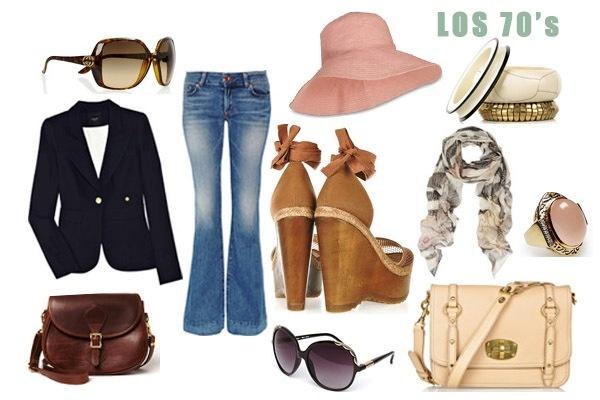 la moda de los 70