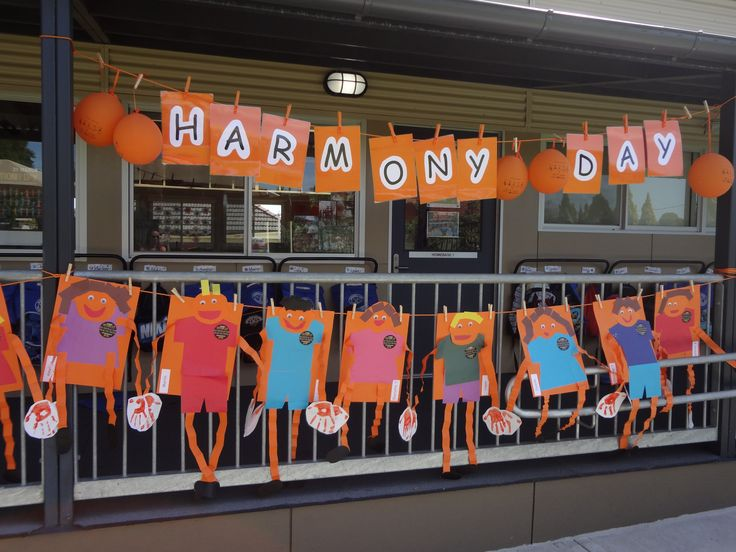 Harmony Day display