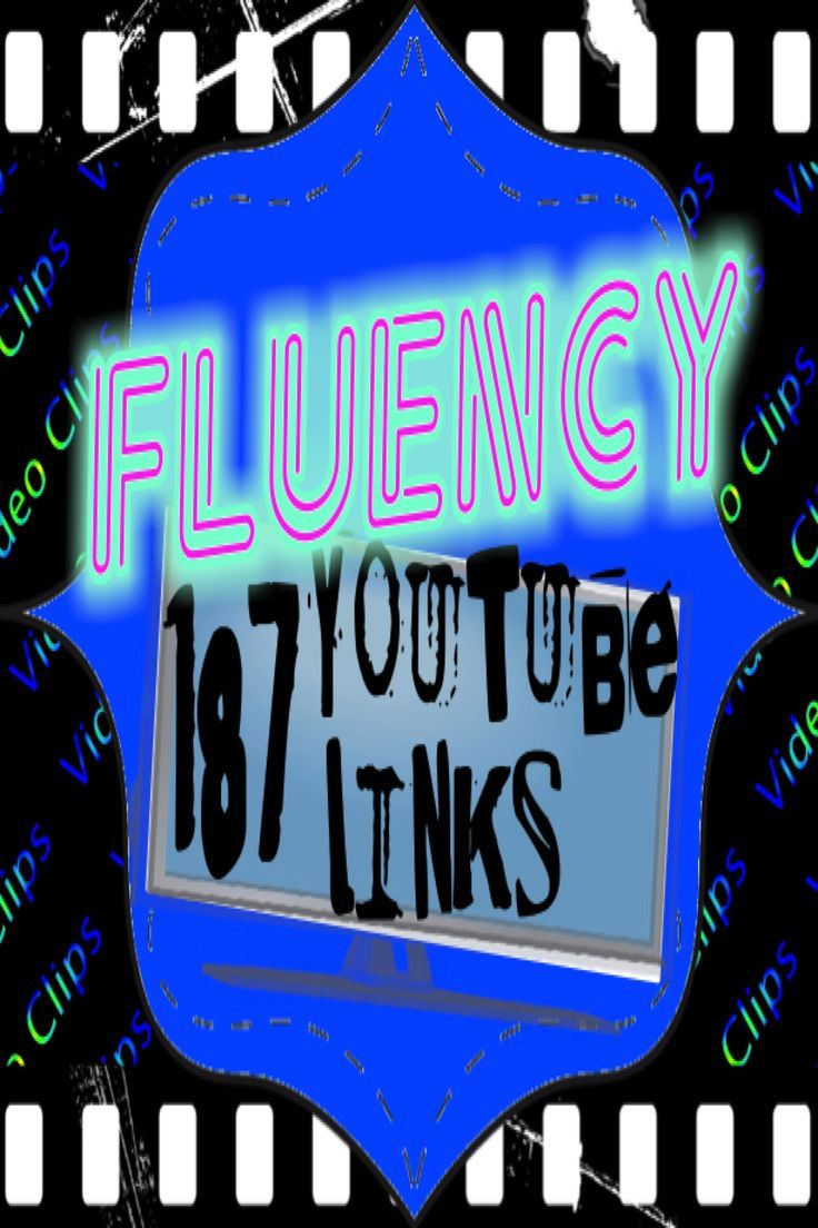 Use video clips and songs with lyrics to practice fluency and phonics with this PDF file that has 187 YouTube video hyperlinks. All of the work of looking for songs and videos that can be used in your reading/writing lessons or as brain breaks has been done for you! Just click and enjoy.