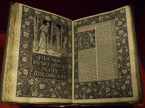 The Well at the World's End by William Morris. Kelmscott Press 1897. Contains a hand written letter from Morris's wife.