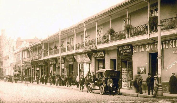 Alameda de las delicias 1910