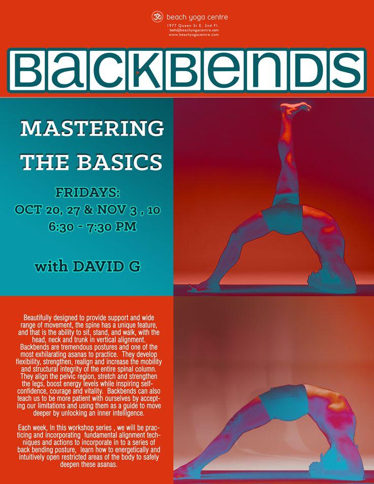 Mastering the Basics- Back-bending workshop with David Gellineau