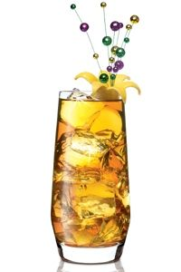 Fat Tuesday Iced Tea CocktailIngredients  2 oz. Citrus flavored vodka (We used SKYY Infusions Citrus)  1 oz. Lemonade  3 oz. Sweet iced tea  1 Lemon wedge    Preparation  Combine all ingredients over ice in a highball glass. Garnish with a lemon wedge.