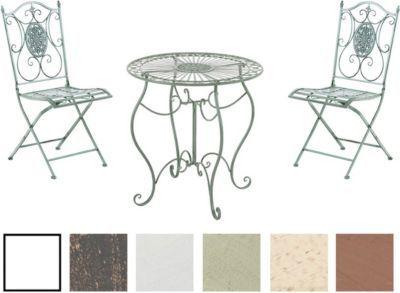 Awesome Cool Aldeano Metall Eisen Lackiert Design Nostalgisch Antik Tisch  Rund Cm X Klappstuhl Jetzt Bestellen Unter With Metalltisch Rund Garten  With ...