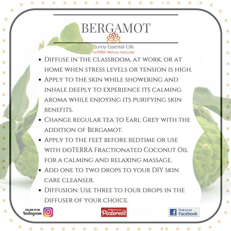 Bergamot Essential Oil info
