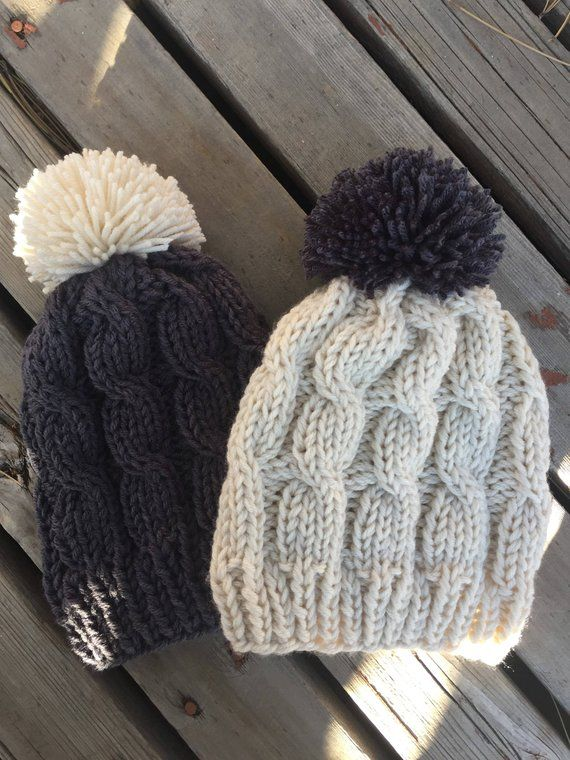 e9a22c36c95 Hand Knit Hats