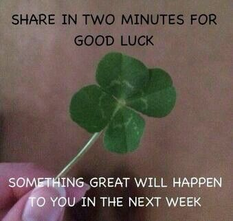 I've reached a point, where luck is all that I'm asking for but I know that I'm not a lucky person.