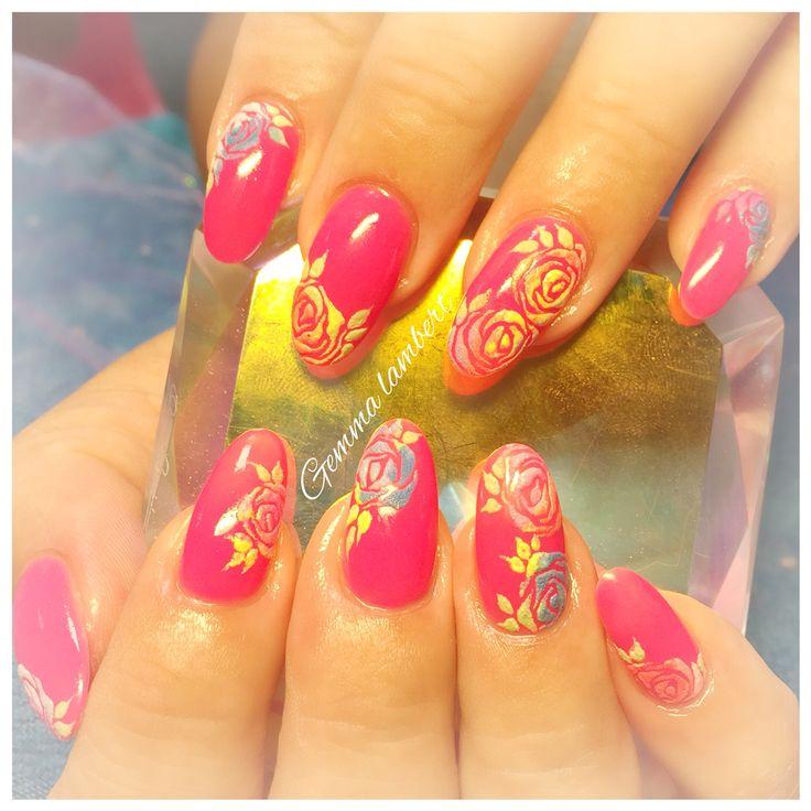 Sugar nail art
