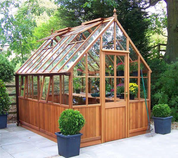 Greenhouse plans malvern victoran greenhouse in cedar for Victorian greenhouse plans