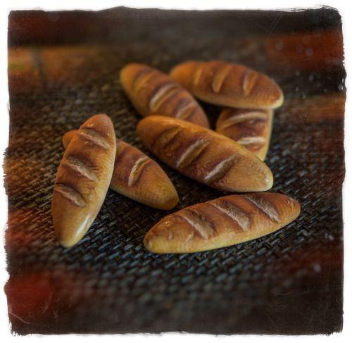 Polymer clay bread for Robinson Crusoe