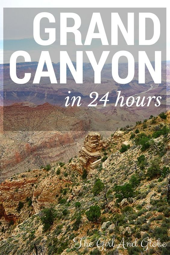 In 24 hours, it is more than possible to see the important sides of the Grand Canyon. My biggest tip? Experience it from multiple angles, get in, get above, get around. | Read more at http://thegirlandglobe.com/grand-canyon/ | #NationalPark #nps #findyourpark