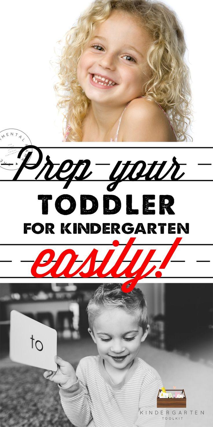 Kindergarten Toolkit - Easy way to prep your toddler for preschool