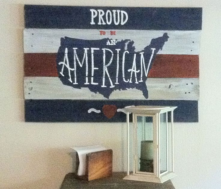 Americana Wall Decor Plaques Signs Simple 18 Best Americana Pallet Signs Images On Pinterest  Pallet Wood Inspiration
