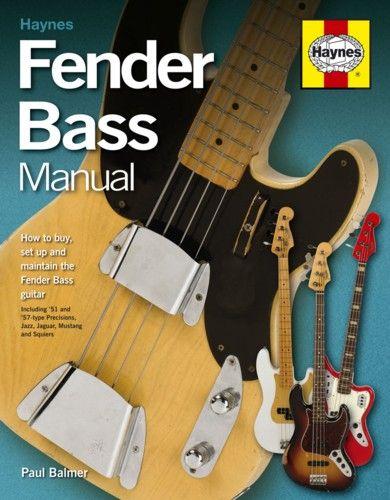 Haynes Fender Bass Manual. £19.99