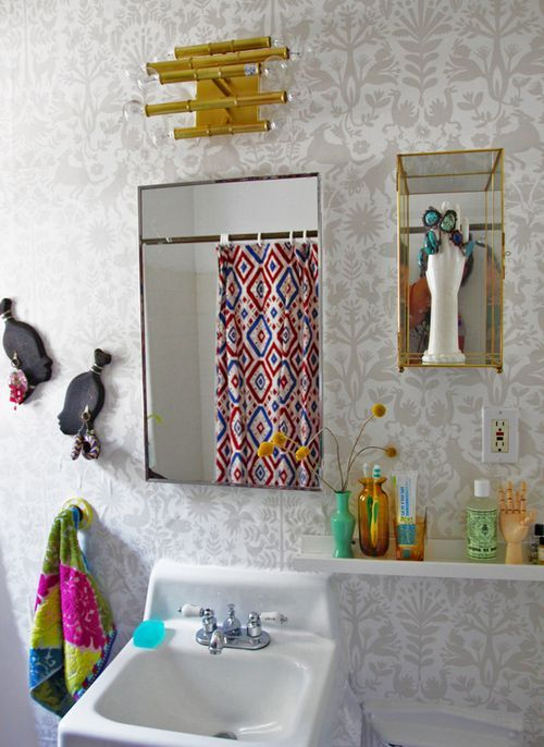 30 best images about emily isabella for hygge west on for Why does my shower curtain turn pink