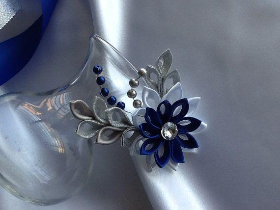 Fermaglio per capelli blu cobalto Royal blu di LihiniCreations