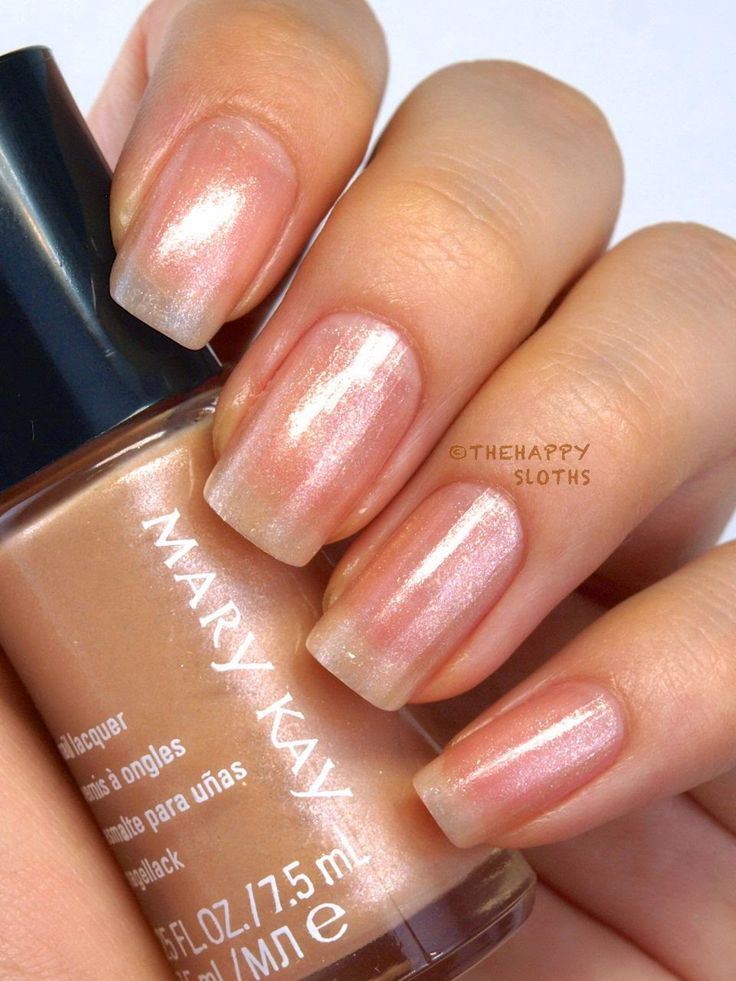 fall 2014 mary kay limited edition midnight jewels collection nail lacquer in pearl rose review and swatches
