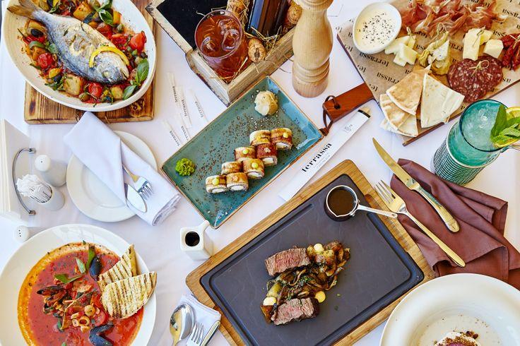 Новые красочные блюда из нашего меню #terrassa #food #meat #appetizer #ginza #ginzaproject #tasty #summer #food #sushi #soup #seafood