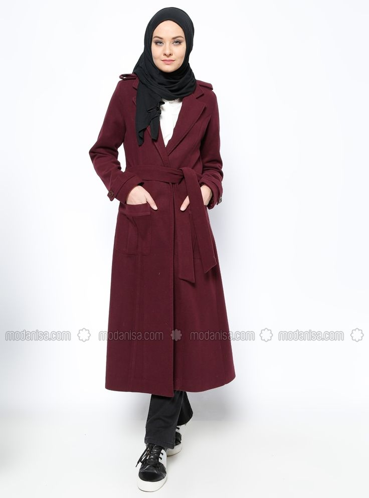 Coat - Purple - BÜRÜN