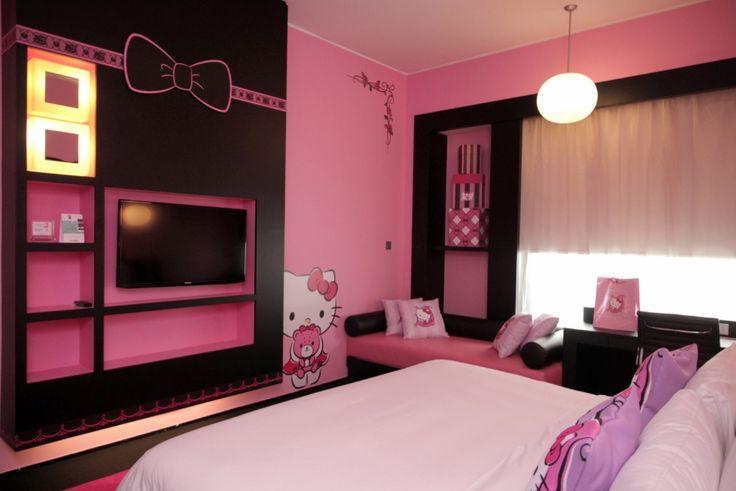 hello kitty bedroom decoration bedroom decor remodel. Black Bedroom Furniture Sets. Home Design Ideas