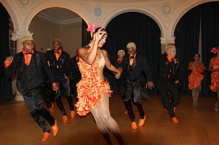 Con el tema Tango pachanguero, Swing Latino y el Mulato demostraron que realmente Argentina y Colombia tienen muchos puntos de encuentro desde la cultura.    Crédito Ibón Munévar, Mincultura 2013.