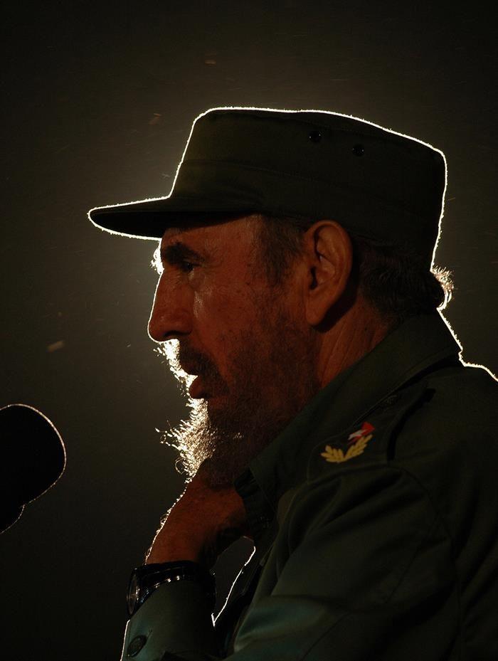Muere el dictador cubano. En la foto del archivo de EFE Fidel Castro en 2006