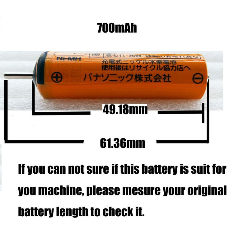 W806 Free shipping  Ni-MH rechargeable battery for Panasonic electric shaver ES4027 ES4033 ER2201 ES4035 ES3042     #Affiliate