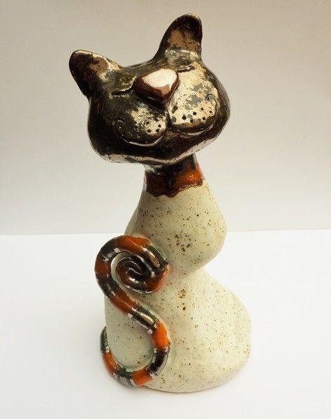 ceramiczny kot w a-QQ! gallery na DaWanda.com