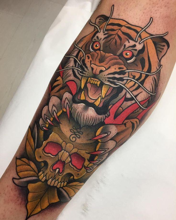Neo Traditional Tattoo