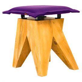 Ferella Stool in Purple by GieEl