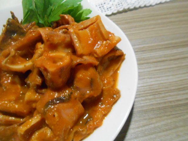 calamares con salsa en la olla express | Más que tartas