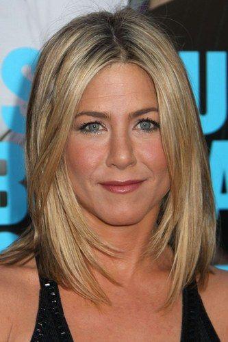 Jennifer Aniston hair frame/layers around face
