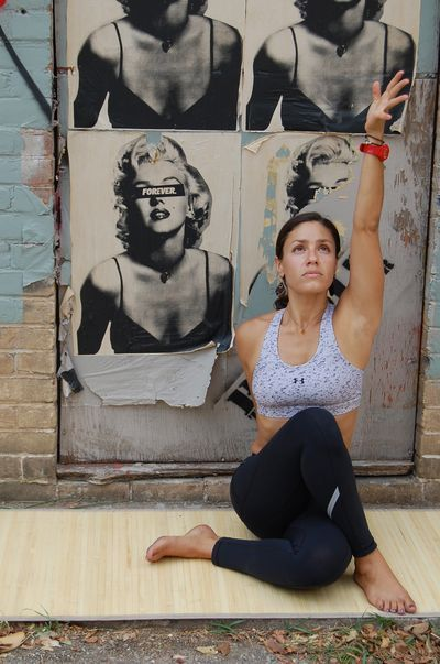 "Yoga Poses Around the World: ""Seated Twist"""