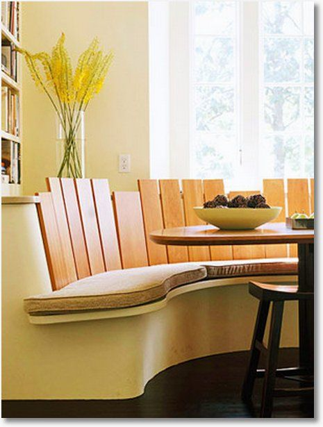 33 best images about interior spaces booth seating on - Kitchen table booth seating ...
