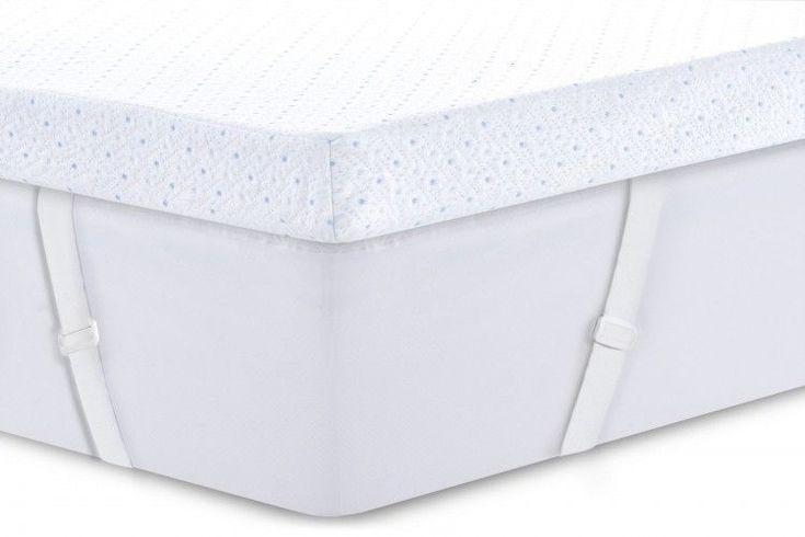 "ICYMI: Queen Size 3"" Gel Memory Foam Mattress Topper Cover for Adjustable Bed Frame Kit #AdjustableBeds"