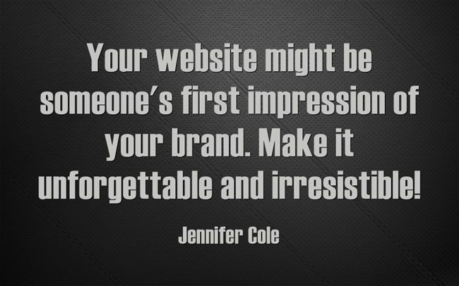 Having an attractive and interactive #website is important for attracting new customers and retaining current ones. Put your heart and soul into it! #webdesign
