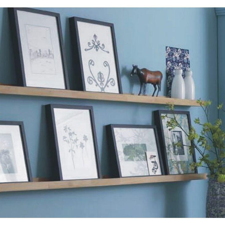 Fotolijstplank eiken - Woningdecoratie - Kleinmeubelen | Zen Lifestyle