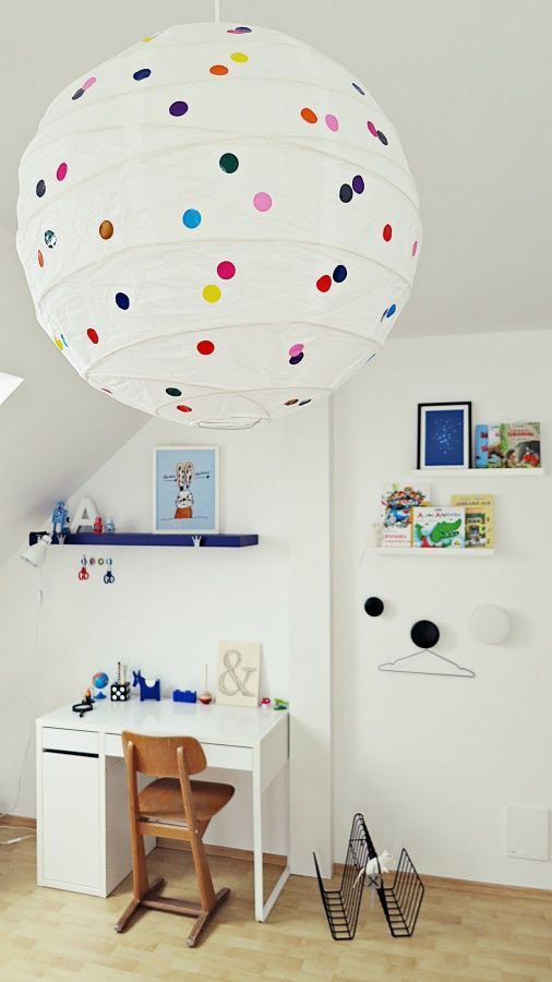 "Foto ""pinnata"" dalla nostra lettrice Rosandra Ferri mommo design: IKEA HACKS FOR KIDS - Dotted Regolit"