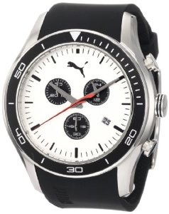 PUMA Men's Ride XL Chronograph Silver Watch, Amazon Lightning Deal 2/27/12 1PM-2PM PST, (List Price: $140) Deal Price: $69.99.